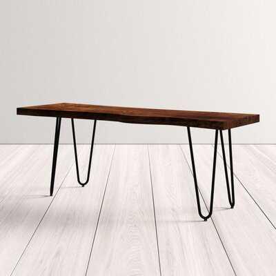 Kelson Wood Bench - AllModern
