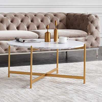 Howse Cross Legs Coffee Table - Wayfair