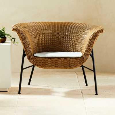Outdoor Basket Chair - CB2