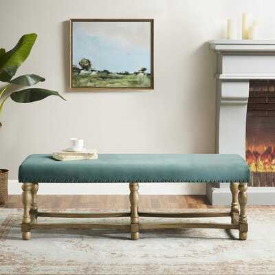 Searles Upholstered Bench - Wayfair