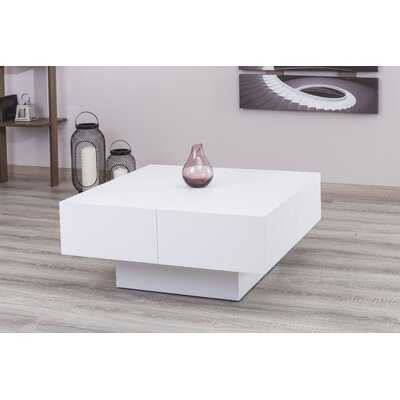 Pickrell Modern Coffee Table with Storage - AllModern