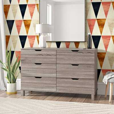 Andrews Commodious 6 Drawer Double Dresser - Wayfair
