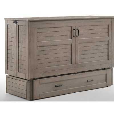 Wilbur Queen Storage Murphy Bed with Mattress - Wayfair