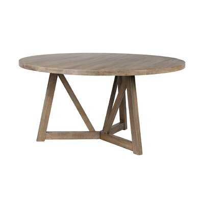 Gaiser Solid Wood Dining Table - Wayfair
