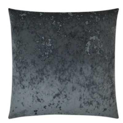 D.V. Kap Abstract Throw Pillow Color: Charcoal - Perigold