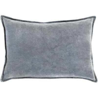 Captain Velvet Lumbar Pillow - Birch Lane