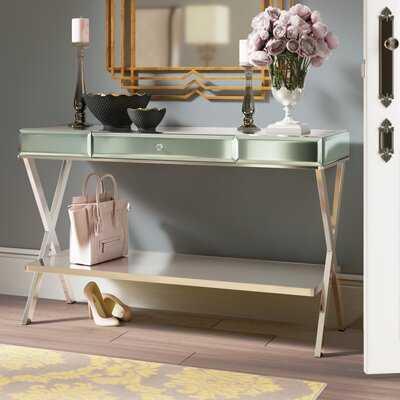 Adina Mirror Console Table - Wayfair