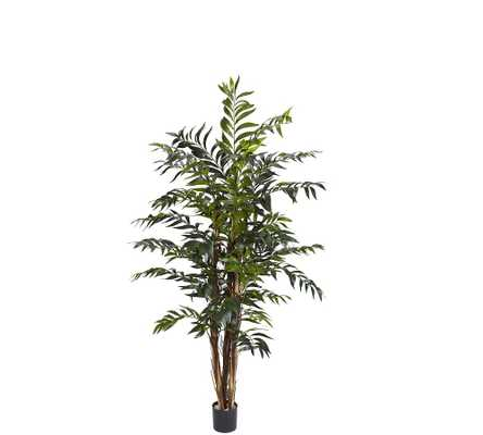 Faux Bamboo Palm Tree, 5' - Pottery Barn