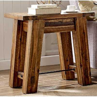 Cummins Solid Wood End Table - Wayfair