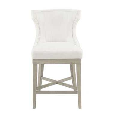 "Laflamme 25.25"" Swivel Counter Stool - Wayfair"