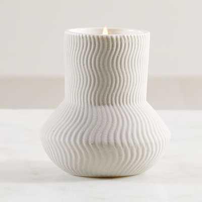 Illume Palo Santo Ceramic Candle - Crate and Barrel