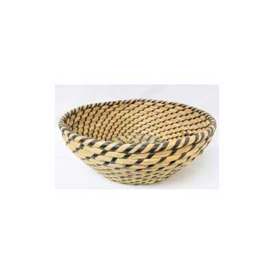 Round Wicker Basket - Wayfair