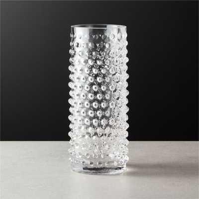 Chiuri Clear Glass Vase - CB2