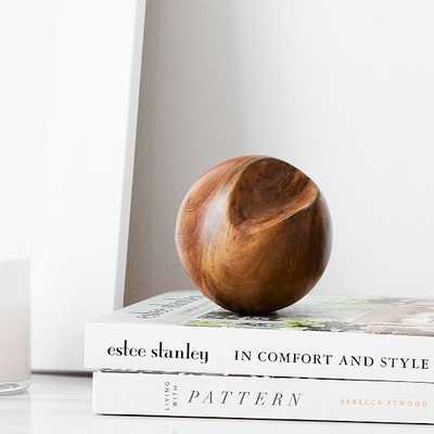 Teak Root Ball Decor, Small - West Elm