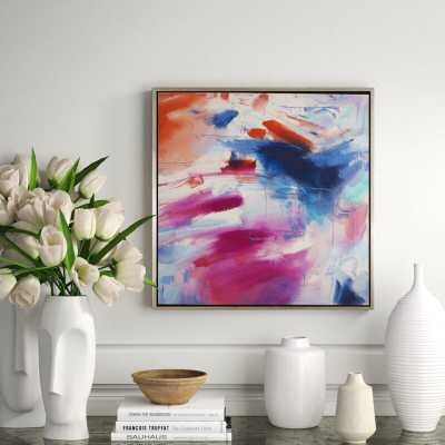 CHC Art, Inc. 'Depth of Love II' - Floater Frame Painting Print on Canvas - Perigold