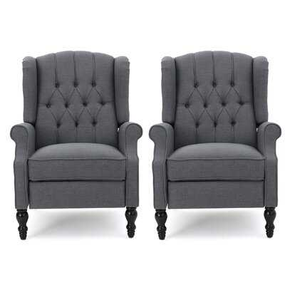 Val Manual Recliner (SET OF 2) - Wayfair