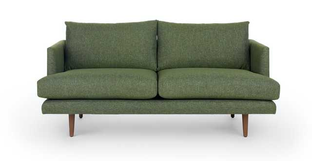 Burrard Forest Green Loveseat - Article