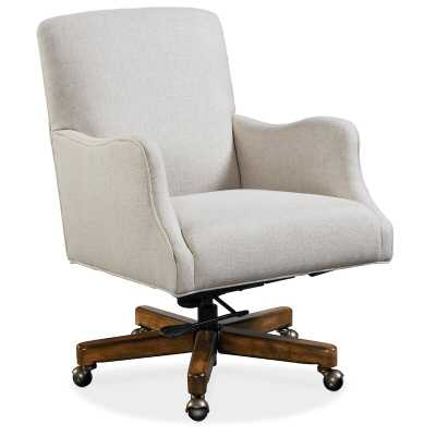 Binx Ergonomic Executive Chair Upholstery Color: Beige - Perigold