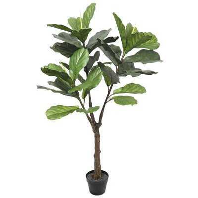 Artificial Fiddle Leaf Fig Tree in Pot - Wayfair