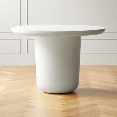 Lola Round Concrete Dining Table - CB2