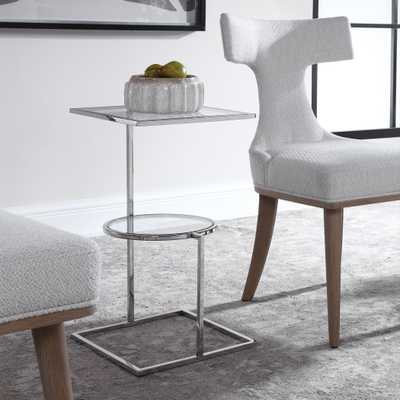 Kirby Modern Accent Table - Hudsonhill Foundry