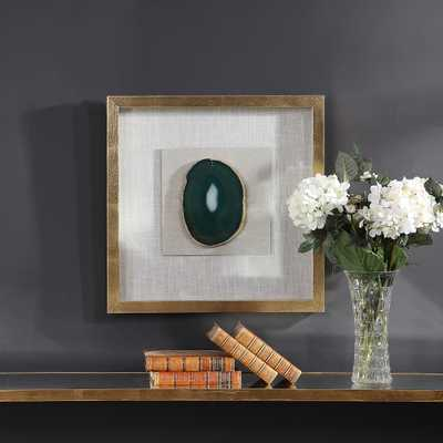 Keeva Agate Stone Shadow Box - Hudsonhill Foundry