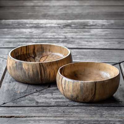Tamarind Wood Bowls, S/2 - Hudsonhill Foundry