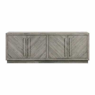 """Vickey Solid Wood TV Stand for TVs up to 88"""" - Wayfair"""
