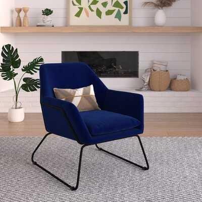 Strattford Velvet Accent Chair - Wayfair