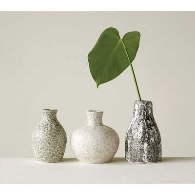Ebeling Terracotta 3 Piece Table Vase Set - Wayfair