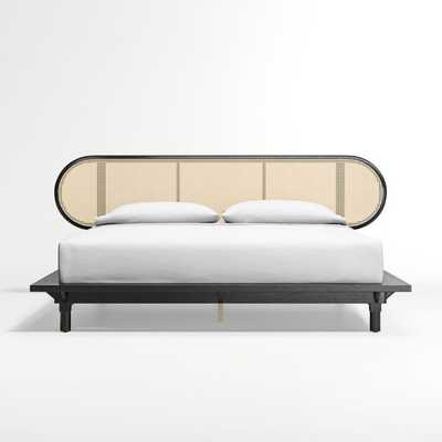 Anaise Cane King Bed - Crate and Barrel