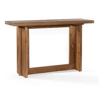 Hearst Console Table, Dark Smoked Oak - Pottery Barn