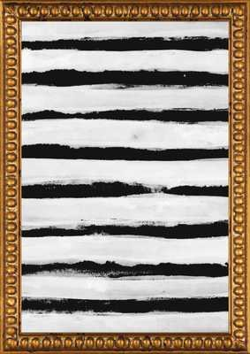 Black and White Stripes by Georgiana Paraschiv for Artfully Walls - Artfully Walls