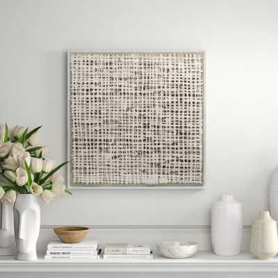 Nakasa Nakasa Egan Handmade in Shadowbox Framed Acrylic Painting Print - Perigold