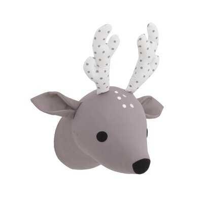Jamir Deer Plush Head Faux Taxidermy - Wayfair