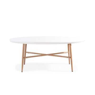 Umstead Oval Engineered Wood Coffee Table - AllModern