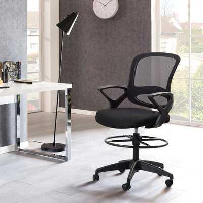 Mesh Ergonomic Drafting Chair - Wayfair