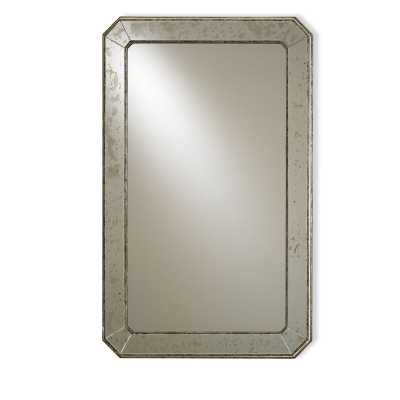 Currey & Company Antiqued Wall Mirror - Perigold