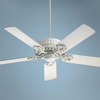 "52"" Quorum Empress Studio White Ceiling Fan - Style # 52835 - Lamps Plus"