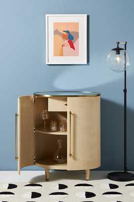 Leonie Luxe Bar Cabinet By Anthropologie in Beige - Anthropologie