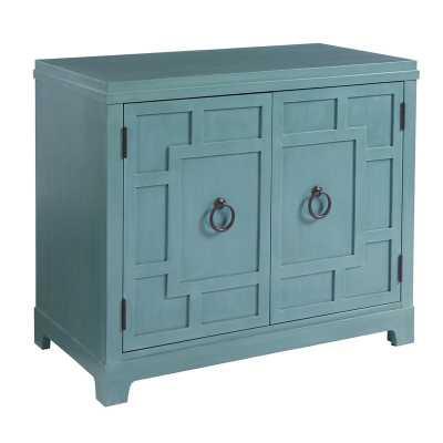 Newport Bachelor's 2 Door Accent Cabinet Color: Seaglass - Perigold