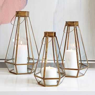 Faceted Lantern, All 3 Sizes Set - West Elm