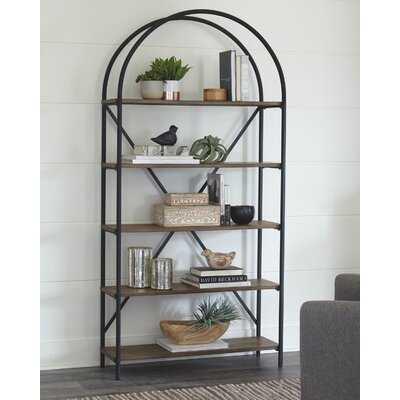 """Guthir 72.16"""" H x 36"""" W Steel Standard Bookcase - Wayfair"""