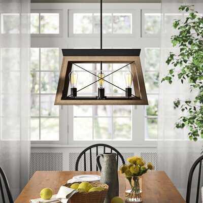 Byron 4-Light Rectangle Chandelier - Birch Lane