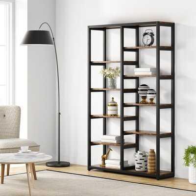 "Leboeuf 70.9"" H x 39.4"" W Etagere Bookcase - Wayfair"