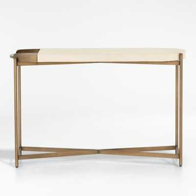 Laurie White Console Table - Crate and Barrel