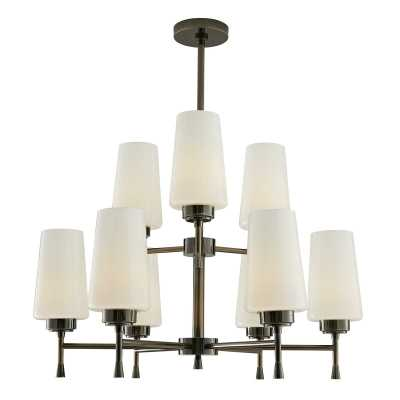 ARTERIORS Sigmund 9-Light Sputnik Tiered Chandelier Finish: Vintage Silver - Perigold