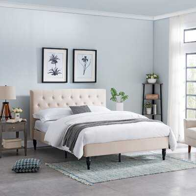 Emmy Queen Upholstered Platform Bed - Wayfair