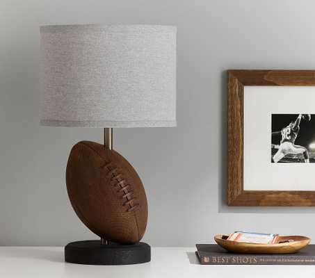 Football Table Lamp w/ USB - Pottery Barn Kids