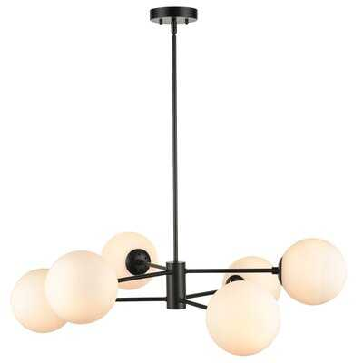Nyla 6-Light Sputnik Linear Chandelier - AllModern